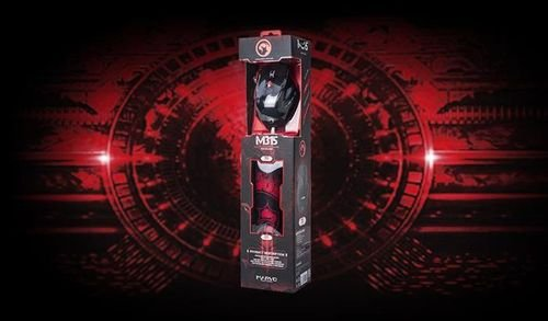 Mouse gaming Marvo Scorpion Buthus M315 USB black & red
