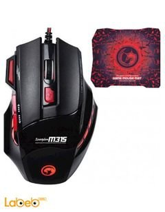 Marvo gaming Mouse Scorpion Buthus M315 - USB - black & red