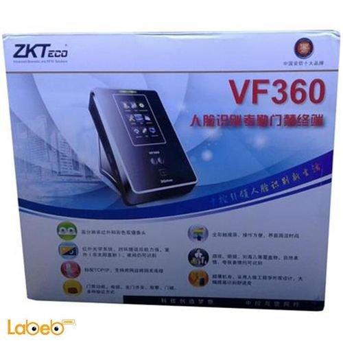 جهاز تسجيل الدوام زكتيكو 200 وجه 10000 كرت VF360