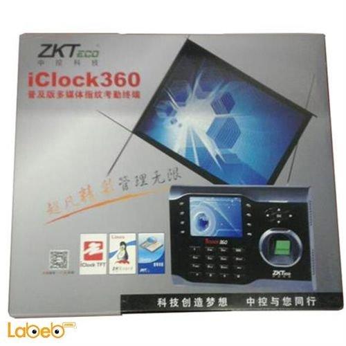 جهاز تسجل الدوام زكتيكو 8000 بصمة 10000 كرت iClock360