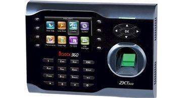 جهاز تسجل الدوام زكتيكو - 8000 بصمة - 10000 كرت - iClock360