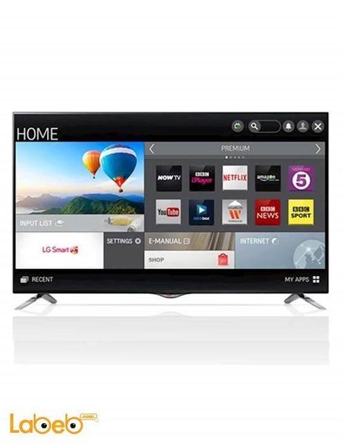LG Smart TV 55 inch Ultra HD LED screen black 55UB830v