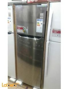 LG Top Mount Refrigerator - 312L - stainless - GNB-482L