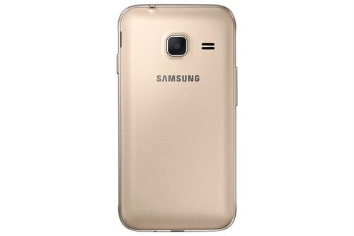 Samsung galaxy J1 mini smartphone back Gold