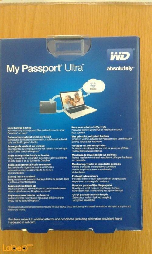 هارد ديسك وسترن ديجيتال 2 تيرابايت WDBMWV0020BBL-EESN
