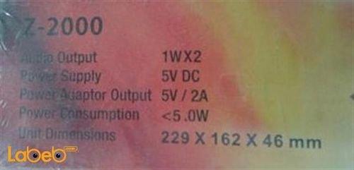 تابلت زورو Z-2000 ذاكرة 8 جيجابايت 7.85 انش