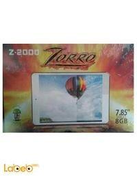 تابلت زورو Z-2000 ذاكرة 8 جيجابايت 7.85 انش لون ابيض