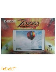 ZORRO Z-2000 tablet - 8GB - 7.85 inche - white color