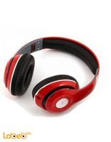 Beats Headphone Buletooth Stereo Red TM-010