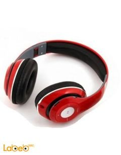 Beats Headphone Buletooth Stereo - Red color - TM-010 model