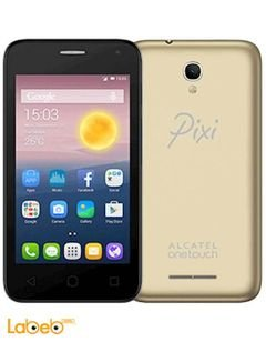 alcatel pixi first smartphone - 4GB - 4inch - Gold color