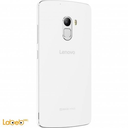 Lenovo A7010 smartphone back White color
