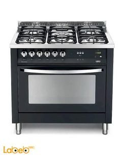 Lofra 5 burners gas oven - 90x60cm - Black - PNMG96GVT/C