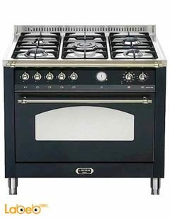 Lofra 5 burners gas oven - 90x60cm - Black - RNMG96MFT/CI