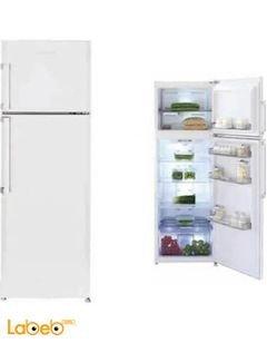Blomberg Refrigerator top freezer - 314L - White - DNE 9650