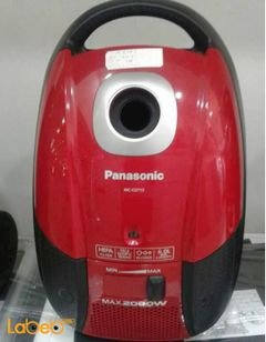 Panasonic Vacuum Cleaner - 2000Watt - Red - MC-CG713