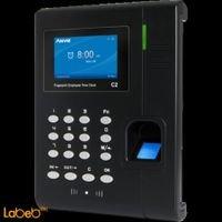 جهاز تسجيل الدوام Anviz شاشة 3 انش 12 خانة Anviz c2
