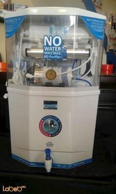فلتر إزالة الشوائب والكربون kent - سعة 8 لتر - مفتاح TDS
