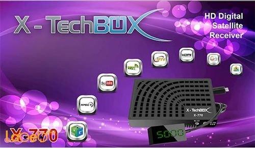 X-TechBOX HD Digital Satellite Receiver X-770 Model