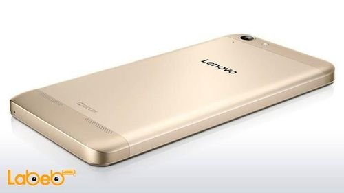 side Lenovo K5 Plus 16GB gold A6020a46