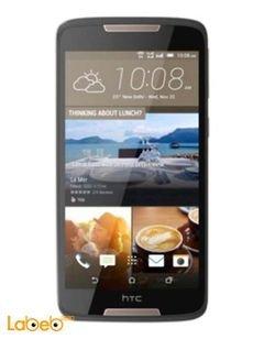 موبايل HTC 828 - دوال - 16 جيجابايت - 5.5 انش - رمادي - htc 828