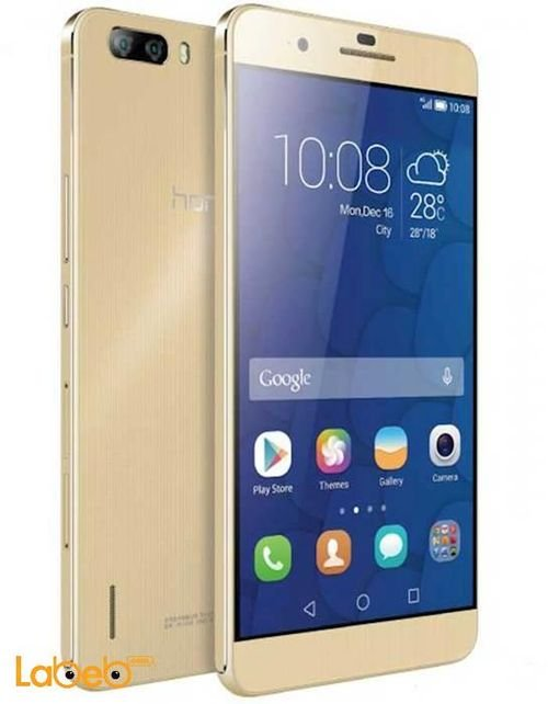 Huawei Honor 6 plus smartphone 32GB 5.5 inche Gold color