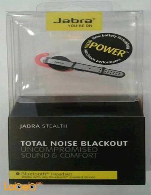 Jabra Stealth Bluetooth mono headset