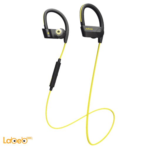 سماعة جابرا للاذن بلوتوث 4.1 لون اصفر Jabra Sport Pace