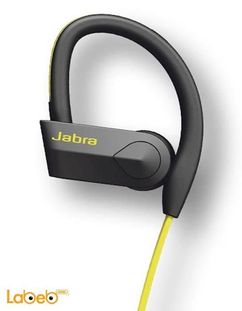 Jabra Sport Pace headset yellow color