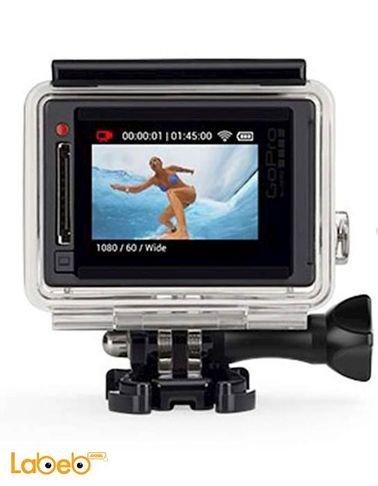 كاميرا جوبرو هيرو4 - 12 ميجابكسل - 40 متر تحت الماء - فضي - HERO4