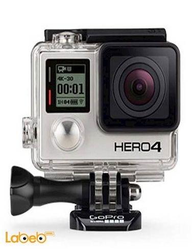 كاميرا جوبرو هيرو4 - 12 ميجابكسل - 40 متر تحت الماء - اسود - HERO4
