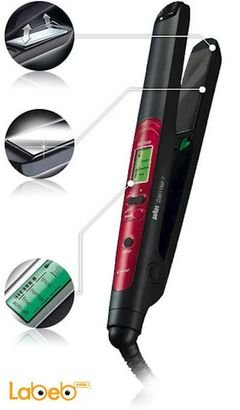 BRAUN Satin Hair 7 Color - 200c - black color - ES3 model