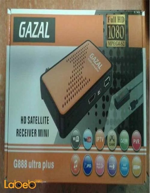 رسيفر غزال جي 888 اولترا بلس ميني G888 Ultra plus