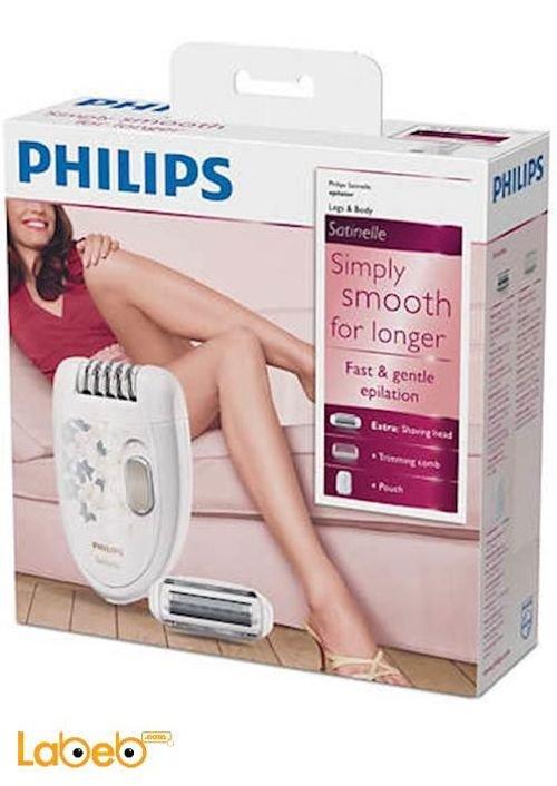 ماكينة فيلبس لازالة شعر الساقين موديل HP6423/00