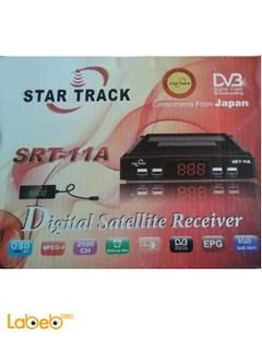 Star Track Digital satellite receiver - 2500 channals - Srt-11A