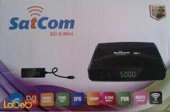 ريسفير سات كوم ميني - فل اتش دي - 5000 قناة - موديل SC-8 Mini