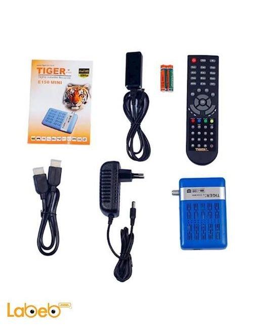 Tiger Full HD reciever 1080P 6000 channel  E150 Mini