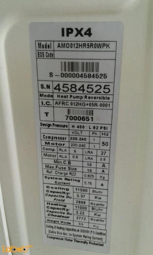 Prime cool Air Conditioner 1 ton