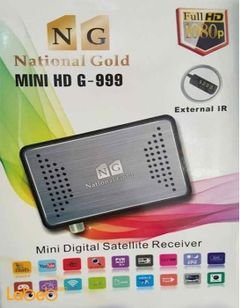 National Gold Mini HD resiver - Full HD - 5000 channel - HD G-999
