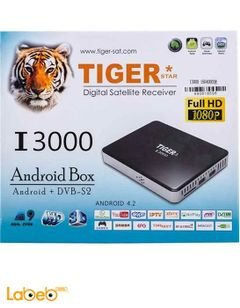 Tiger I3000 Android DVB-S2 Arabic IPTV Box - Full HD - 3D - I3000