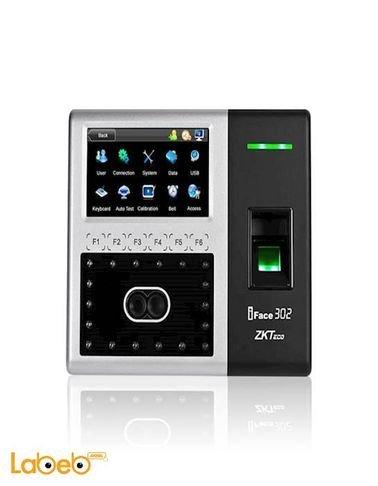 جهاز دوام بصمة الوجه والاصبع zkteco - حجم 4.5 انش - موديل iFace302