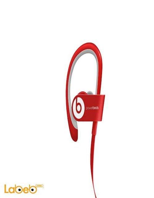 سماعات أذن باور بيتس 2 لاسلكية لون احمر B0516
