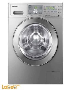 Samsung washing machine with Eco Bubble - 8KG - WD0804W8N/XFA