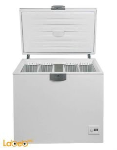 Beko Chest Freezer - 400 Liters - white color - HSA 40520 model