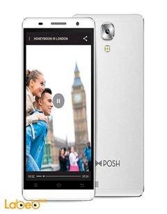 موبايل بوش ايكون برو - 16 جيجابايت - 4G - ابيض - Pro HD X551
