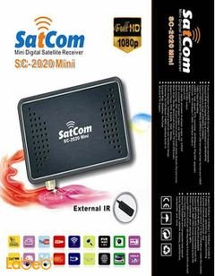 Sat com mini Full HD Receiver - 5000 chanels - SC-2020 Mini
