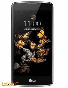 موبايل ال جي K8 LTE - ذاكرة 8 جيجابايت - لون أسود وذهبي - K8 LTE