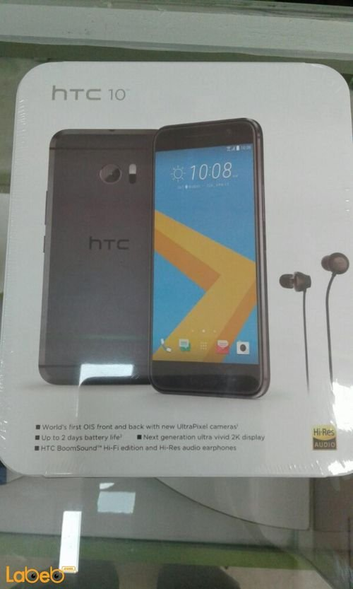 HTC 10 smartphone 32GB 5.2 inch carbon grey