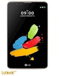 موبايل ال جي ستايلوس 2 ذاكرة 16 جيجابايت لون بني LG K520DY