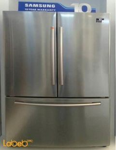 Samsung french-door refrigerator - 619L - Stainless - RF260BEAESL